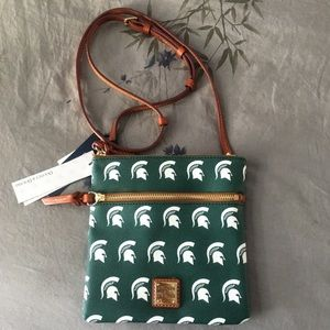 Dooney & Bourke Michigan State Crossbody
